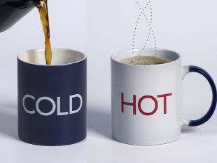 Hot Cold mug by Damianosullivan